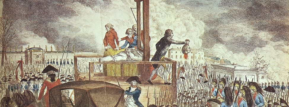 Robespierre y el Terror Jacobino. Ejecución de Luis XVI.