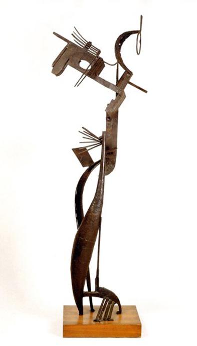 Julio González_Escultura de hierro